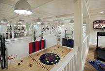 basketball court ideas for garage