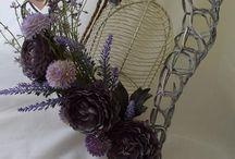 Wianki / Wianki, dekoracje kwiatowe, rękodzieło, kwiaty