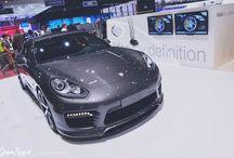 Genewa 2015: TechArt Porsche Panamera / Zapraszamy na cykl artykułów o najciekawszych samochodach z Targów Motoryzacyjnych w Genewie!  Jako pierwszą proponujemy najnowszą Panamerę w wydaniu TECHART. Dzięki wielu zabiegom, limuzyna Porsche zdecydowanie zyskała na wyglądzie – jest agresywnie i sportowo, a zarazem elegancko.  Więcej informacji: http://gransport.pl/b…/genewa-2015-techart-porsche-panamera/