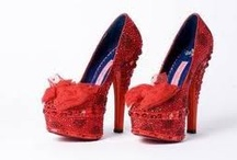 The right pair of shoes can change your life...just ask Cinderella! / by Rosie Altamirano-Habing