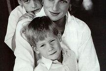 Prinses Diana & Fam
