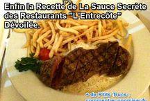 Recettes sauce