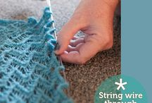 Crochet and Knitting / Good samples and patterns for crochet & knitting / by Barbara Gepner