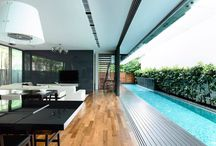 exterior - pool & pond