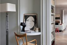 Little Nooks - Make them Werk! / We all have little nooks and awkward spaces in the house that we don't use - here are some smart and chic ways to make them work for you!