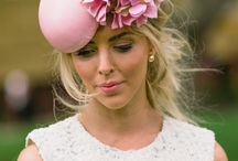 Spring Racing - Hats, Fascinators & lots of Glamour / Looking for something eclectic, stylish, unique with elegance? Create your hat or fascinator with flowers… we love creating that something special for YOU.