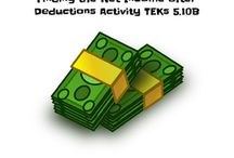 Financial Literacy Lessons and Activities / Lessons and activities to help to teach the new financial literacy TEKS in Texas