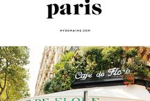 Paris in Spring / I've fallen in love with all things Parisian, especially books!