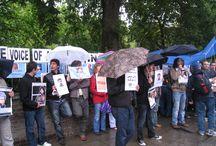 انگلیس ؛ لندن / تظاهرات لندن