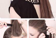 long hair tutorials