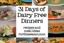 31 days dairy free gluten free dinners