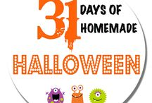 31 Days of Homemade Halloween / A new series that includes all things Halloween and Fall! From real food halloween themed recipes to decor, beauty products and crafts, this series will inspire you to enjoy the festivities!
