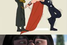 Super heros and super villains