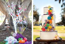 Willie Wonka Themed Wedding