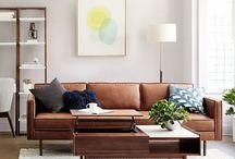 Pillows on Terracotta Lounge