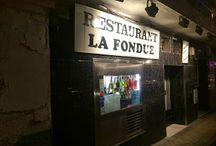 La fondue