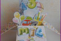 pop-up card box