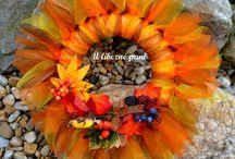 věnečky na podzimní zdobení / podzim