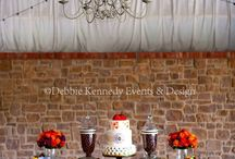 Rustic Woodland Dessert Table / Candy Buffets & Dessert tables by www.debbiekennedyevents.com