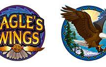 Eagle's Wings / Slot dalla grafica realistica, Eagle Wings offre la possibilità di puntare fino a 125 monete sulle 25 payline. Tre o più scatter attivano la partita bonus Lucky Eagle, con cui potresti ricevere fino a 60 free spin durante i quali le vincite sono triplicate. Tenta la fortuna su Voglia di Vincere.