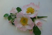 Kwiaty z masy