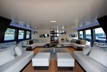 Yacht Furniture and Interior Design / Exclusive design ideas and innovative realization of projects of some of the best yacht interior designs.  / by Bluewater