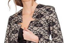 Jacheta eleganta, dantela neagra