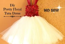 DIY girls dress