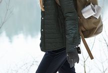 hiking/climbing clothes