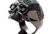 skull ring / skull ring
