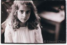 Analog film portraits by Edward Olive photographer