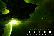 The Art of Alien : Isolation / Book of Alien : Isolation (Game)