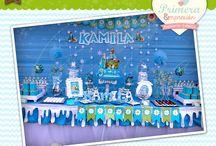 frozen fever / Mesa tematica de FIEBRE CONGELADA #Frozen