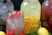 Fresh drinks / healthy and refreshing drinks