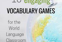 Vocabulary games