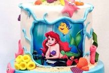 Mermaid Cakes I like