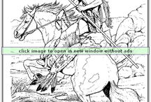 Animal Coloring Pages / Visit coloringbookfun.com for a great selection of animal coloring pages!