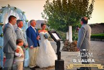 English Destination Wedding in Crete | Adam & Laura | September 2014 / The #Destination #Wedding of Adam and Laura from the UK, held in a magical location in Southern Crete. September 2014