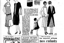 Art Deco - top / 1920s and 1930s blouses (1918-1938)