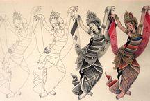 five art studio keliki, ubud,Bali / Art painting Ubud Bali