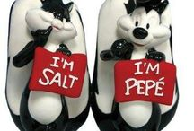 Salt & Pepper Shakers / by Miriam Perez