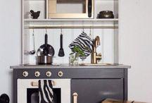 Play kitchen / Ikea duktig play kitchen hacks, felt food, play food, play kitchen appliances