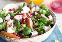 Salate für Geburtstag