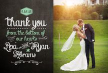 {wedded bliss ♡ thank yous}