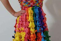 reusable material clothes