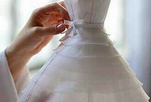 Dressmaking in miniature...