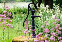 Water pump/ Kaivoja, vesipumppuja / Nostalgy of old times.