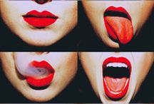 Mouth, Lipsticks, kisses and more... / http://any-athayde.blogspot.com.br/