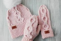 Вязание шапочки вязанные