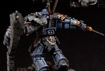 Space Wolves-stuff / Warhammer 40k Space Wolves army 'cus I'm a nerd.